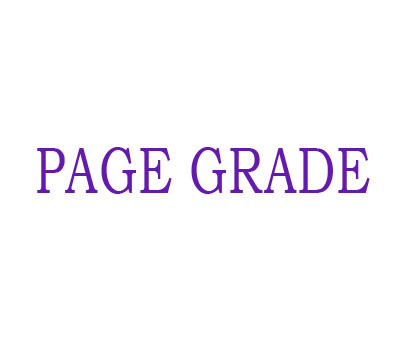 PAGEGRADE