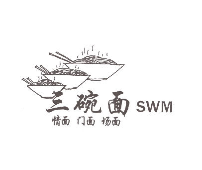 三碗面情面门面场面-SWM