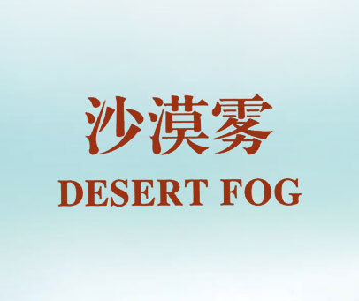沙漠雾-DESERTFOG
