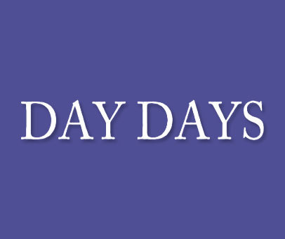 DAY DAYS
