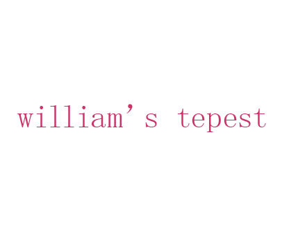 WILLIAM S TEPEST