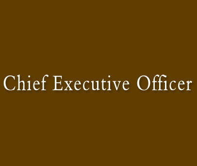 CHIEFEXECUTIVEOFFICER
