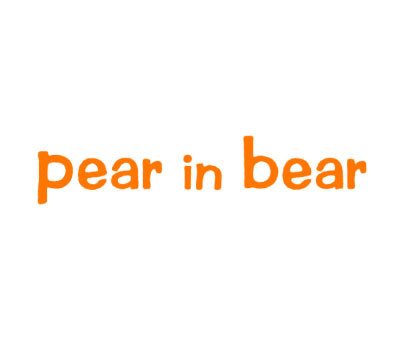 PEAR IN BEAR