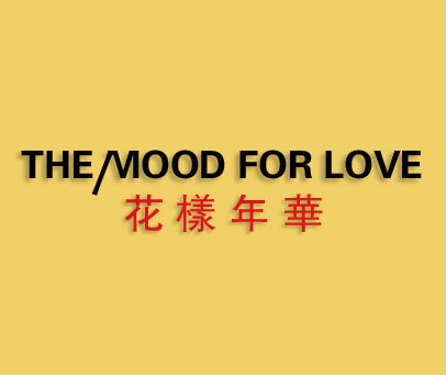 花样年华-THE MOOD FOR LOVE