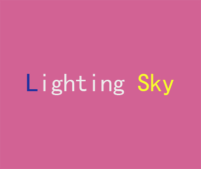 LIGHTING SKY