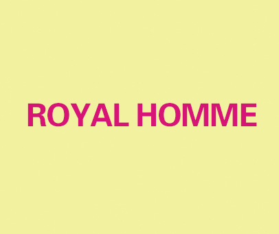 ROYALHOMME