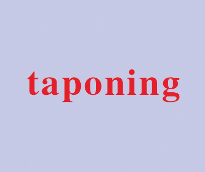 TAPONING