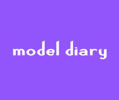 MODEL DIARY