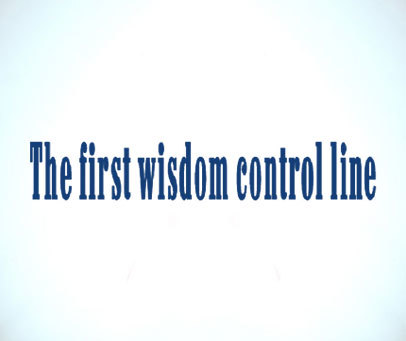 THE FIRST WISDOM CONTROL LINE