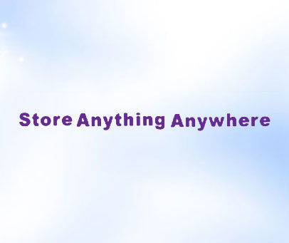 STORE-ANYTHING-ANYWHERE
