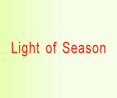 LIGHT OF SEASON
