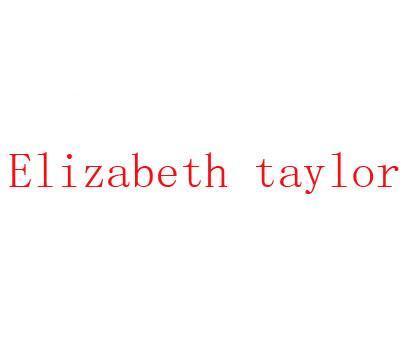 ELIZABETH TAY LOR