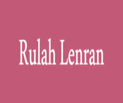 RULAH LENRAN