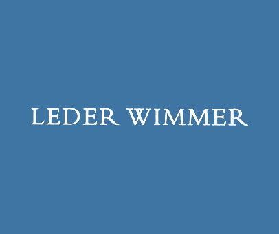 LEDER-WIMMER