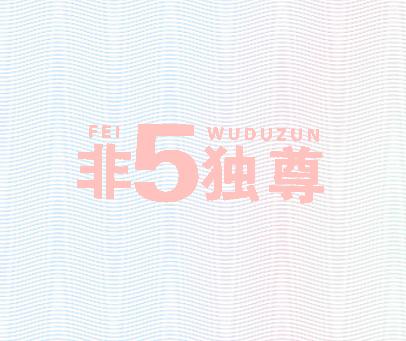 非5独尊-FEIWUDUZUN