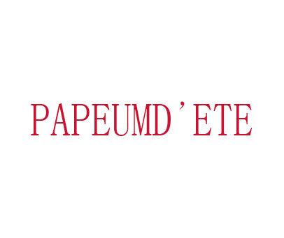 PAPEUMD'ETE