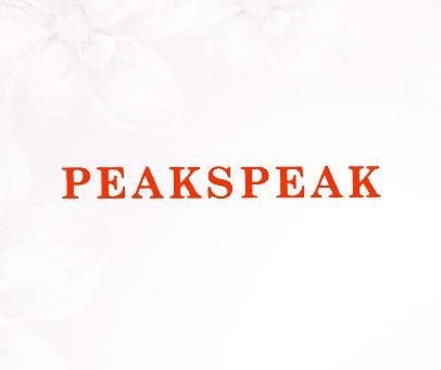 PEAKSPEAK