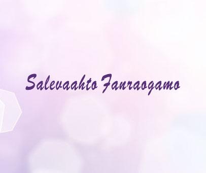 SALEVAAHTO FANRAOGAMO