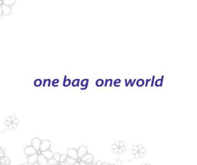 ONE BAG ONE WORLD