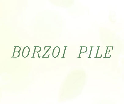 BORZOI-PILE