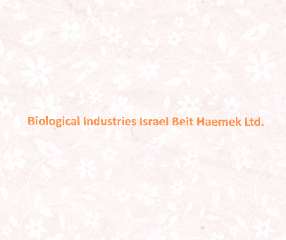 BIOLOGICAL-INDUSTRIES-ISRAEL-BEIT-HAEMEK-LTD.