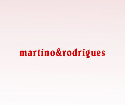 MARTINO&RODRIGUES