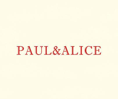 PAUL&ALICE