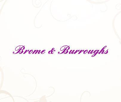 BROME&BURROUGHS