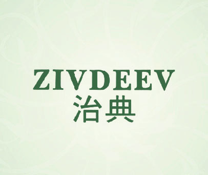 治典 ZIVD治典-ZIVDEEVEEV