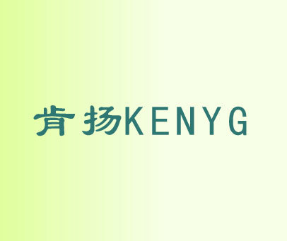 肯扬  KENYG