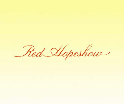 RED HOPESHOW