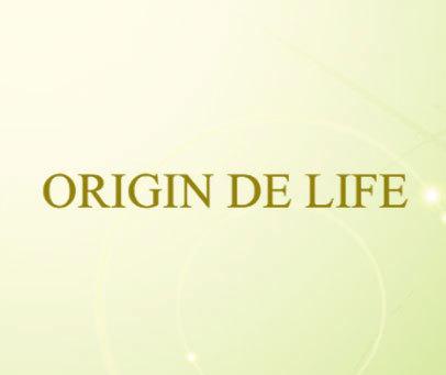 ORIGIN DE LIFE