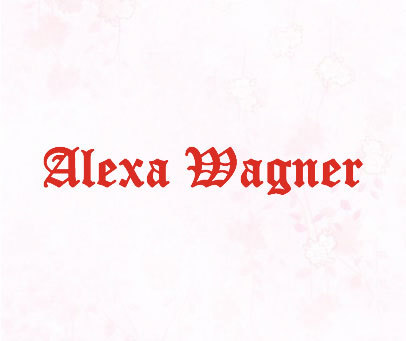 ALEXA WAGNER