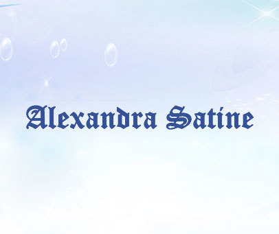 ALEXANDRA SATINE