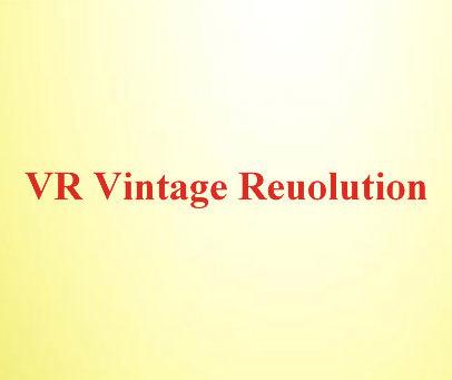 VR VINTAGE REUOLUTION
