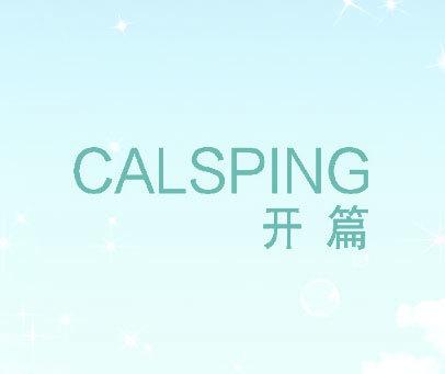 开篇 CALSPING