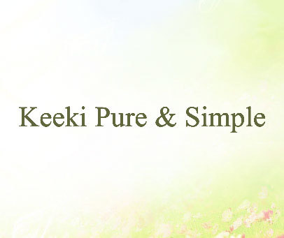 KEEKI PURE & SIMPLE