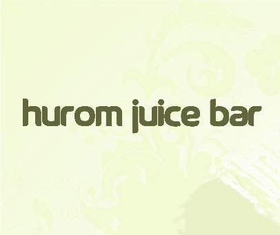 HUROM JUICE BAR