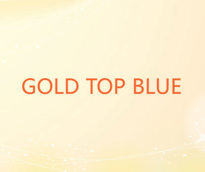 GOLD TOP BLUE