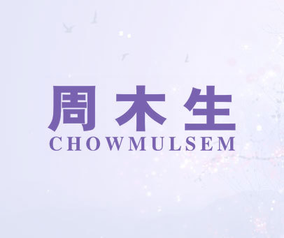 周木生 CHOWMULSEM