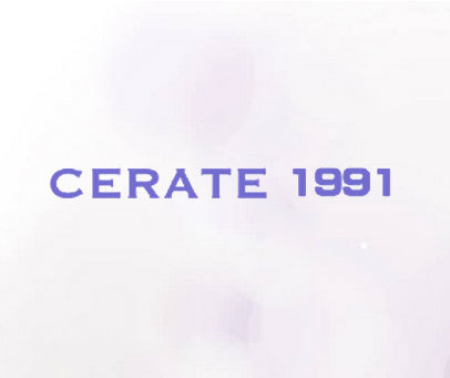 CERATE 1991