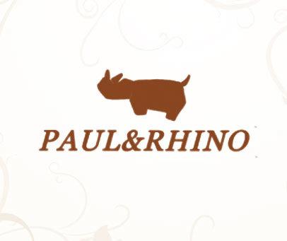 PAUL&RHINO