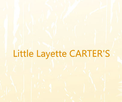 LITTLE LAYETTE CARTER'S