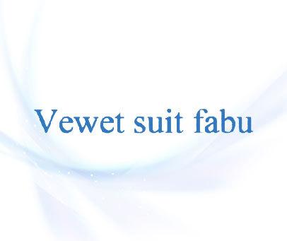 VEWET SUIT FABU
