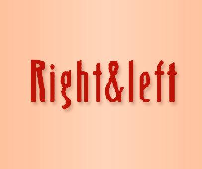 RIGHT&LEFT