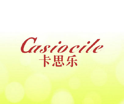 卡思乐 CASIOCILE