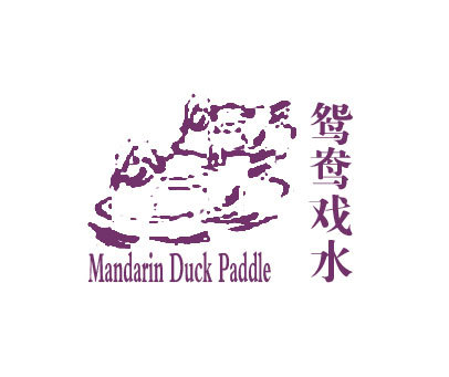 鸳鸯戏水-MANDARINDUCKPADDLE