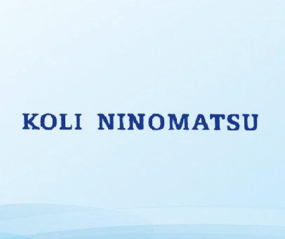 KOLI NINOMATSU
