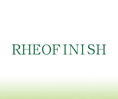 RHEOFINISH
